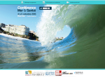 Page d'accueil du site Health Sea