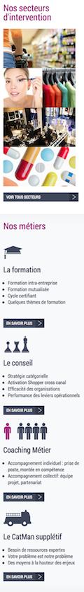 Page d'accueil IMPP 2014 sur iPhone - Partie 3