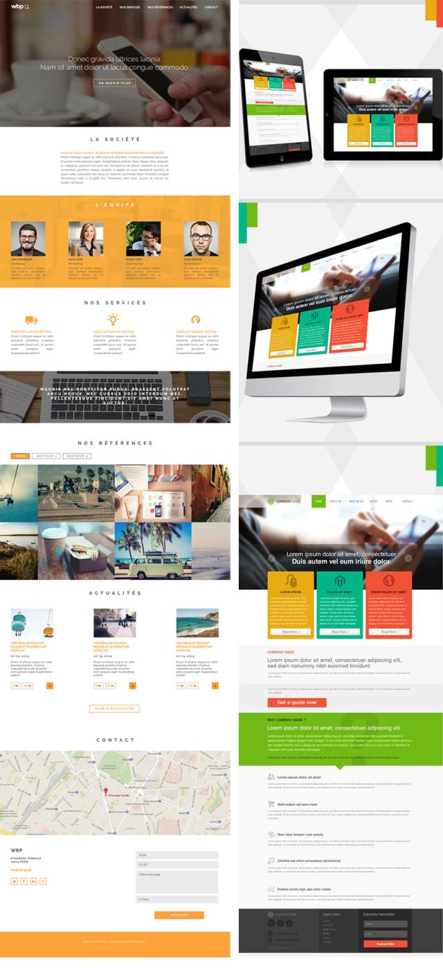 site flatdesign