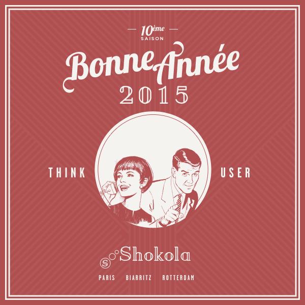 carte de voeux Shokola 2015
