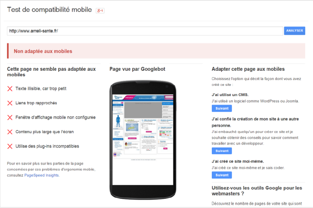 google-mobilegeddon-test-compatibilite