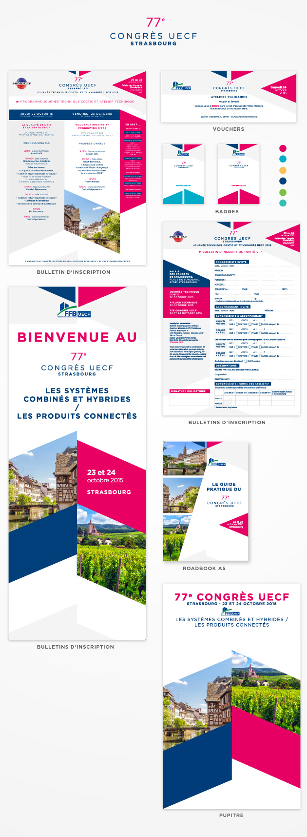 Congrès UECF 2015 - Supports de communication