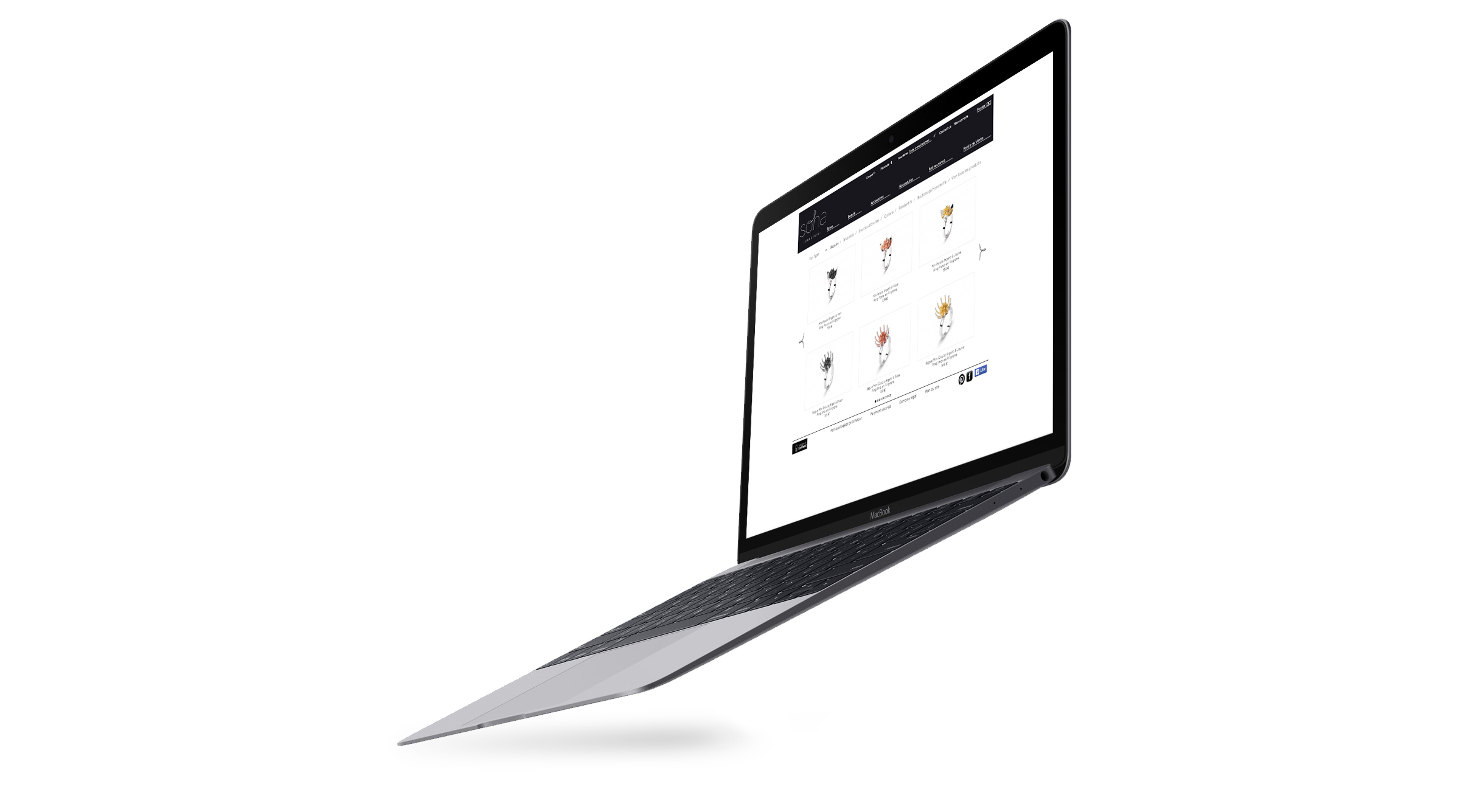Flying-Macbook-Mockup
