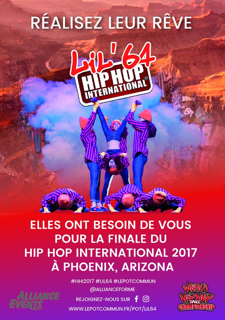 Flyer Lil 64 hip hop