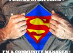 Je peux tout faire je suis un community manager