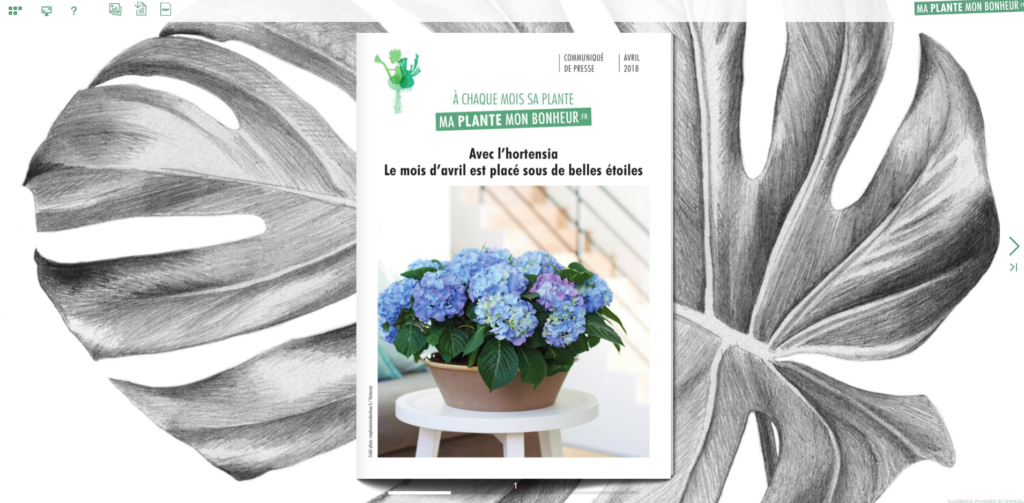 Flipbook L'hortensia avril 2018