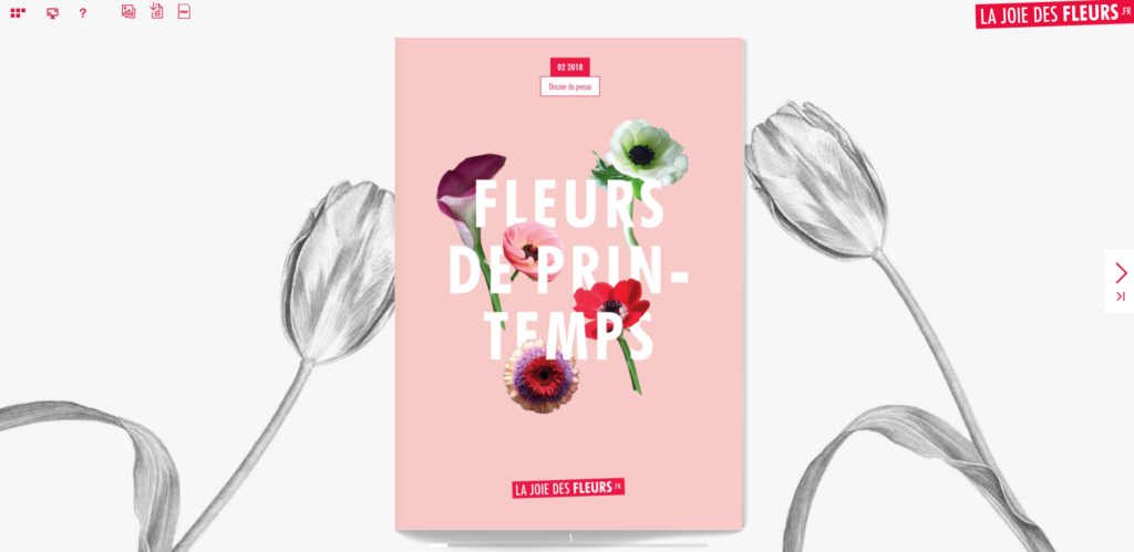 Flipbook Fleurs de printemps avril 2018