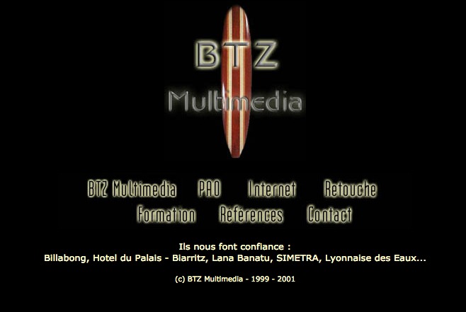 btz multimedia site internet