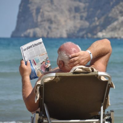 plage journal vacances