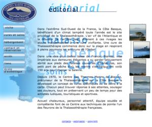 thalasso de biarritz site internet