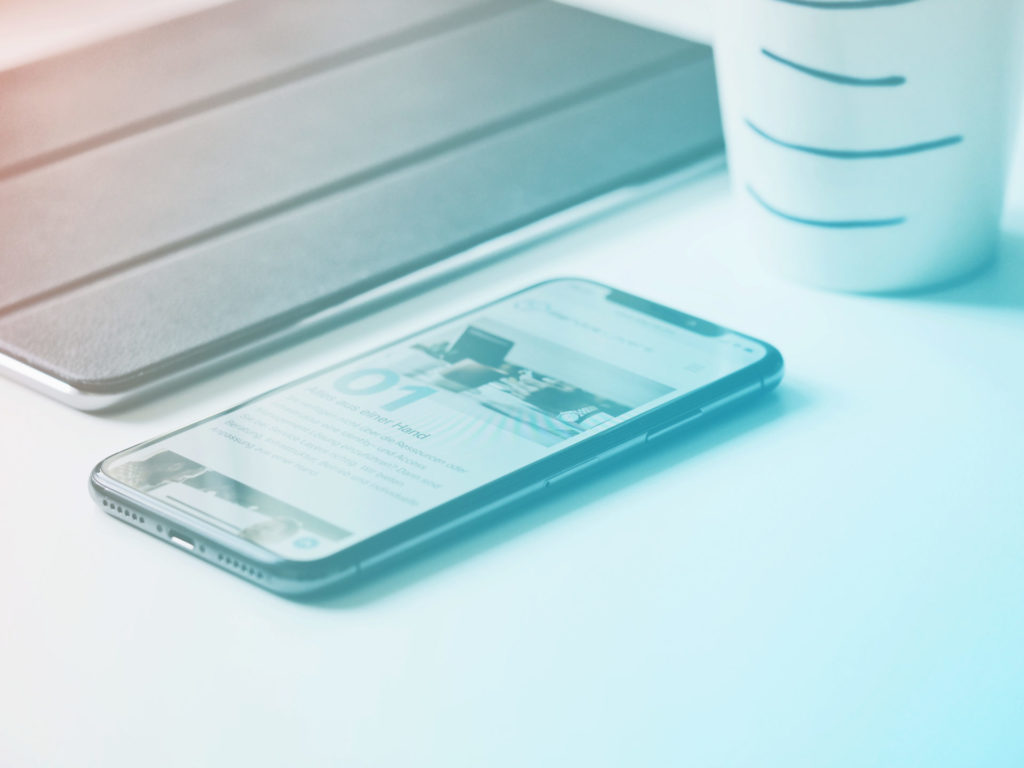 newsletter smartphone