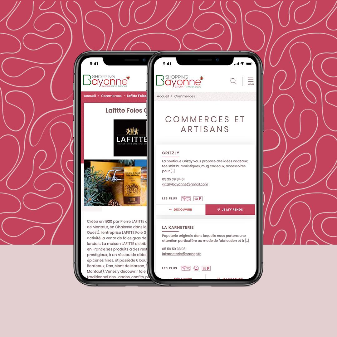 bayonne shopping commerces moteur de recherche