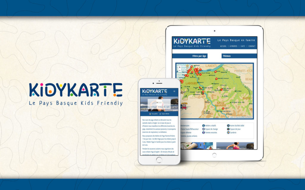 KidyKarte Site internet