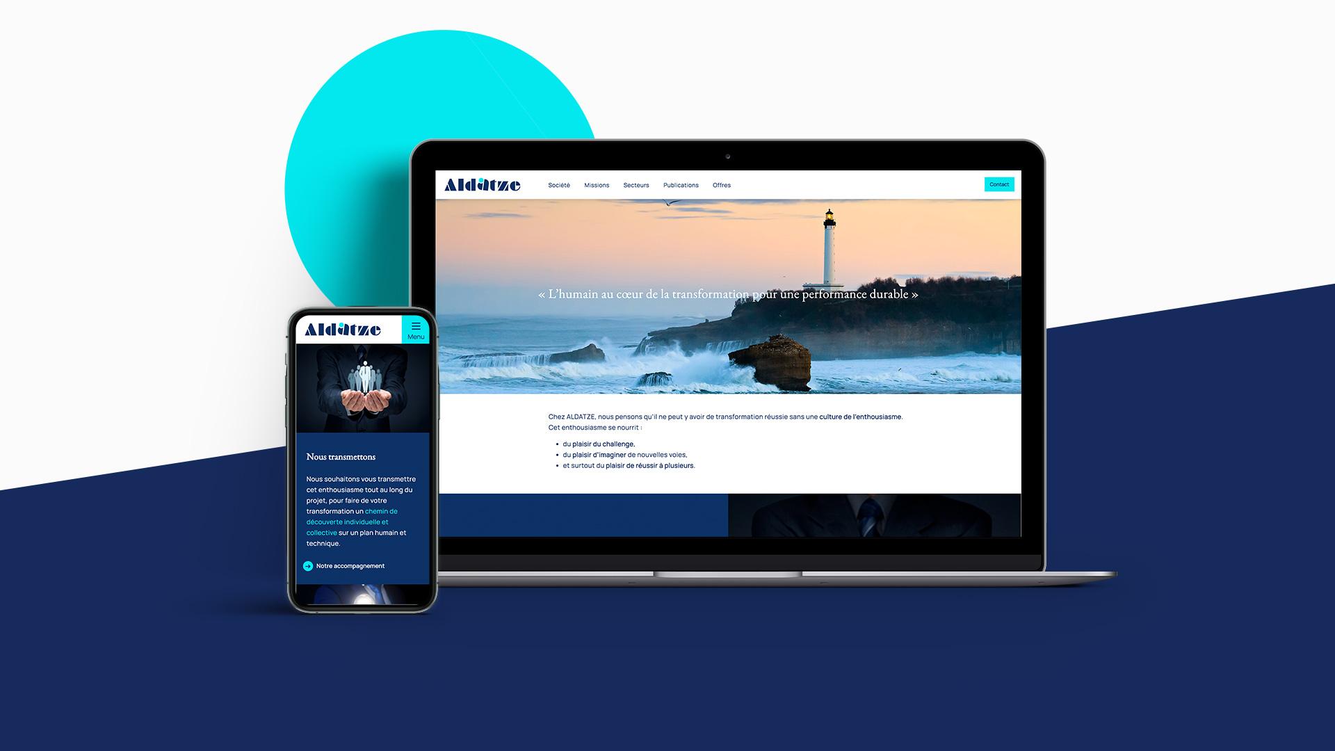 Aldatze - Site web
