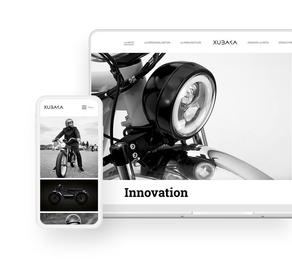 Webdesign Xubaka